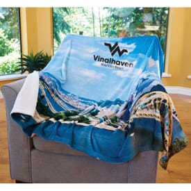 Foto Vision™ Plush Throw